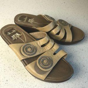 Dansko Sandals two straps 36